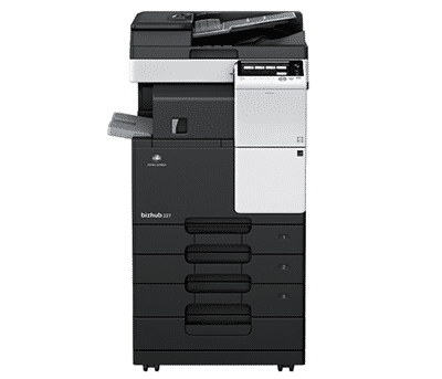 Konica Minolta Bizhub 227 Mono Laser Multifunction Printer dealer