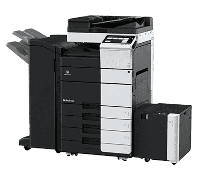 Konica Minolta bizhub 308 and 308e black and white multifunction printer