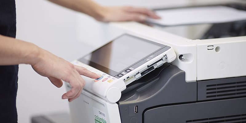 Office Printer Multifunction Scanner Copier Fax Small Business Document Solutions